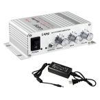 Lepy Hi-Fi ステレオアンプ デジタル アンプ カー アンプ パワーアンプ LP-268