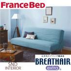 フランスベッド ソファベッド BC-01 レギュラー 高密度連続スプリング ブレスエアーエクストラ 抗菌 防臭 制菌 送料無料 組立設置込 引取処分可