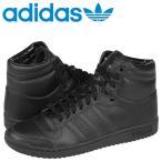 アディダス オリジナルス adidas Originals TOP TEN HI スニーカー トップテン ハイ レザー メンズ C75323 ブラック×ブラック