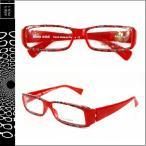 アランミクリ alain mikli メガネ 眼鏡 レッドA0777 14 メンズ レディース