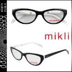 ミクリ mikli メガネ 眼鏡 ブラック×ホワイト ML1222 C01M セルフレーム メンズ レディース alain mikli サングラス
