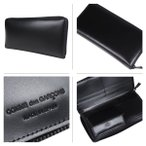 コムデギャルソン COMME des GARCONS 財布 長財布 メンズ レディース ラウンドファスナー ブラック 黒 SA0110VB [10/10 再入荷]