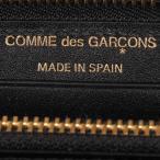 コムデギャルソン COMME des GARCONS 財布 長財布 メンズ レディース ラウンドファスナー 本革 HUGE LOGO WALLET ブラック 黒 SA0111HL [10/10 新入荷]