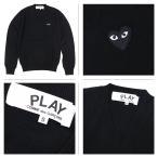 コムデギャルソン COMME des GARCONS PLAY ニット セーター メンズ HEART PULLOVER AZ-N002 AZ-N018 ブラック レッド