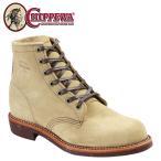 チペワ CHIPPEWA 6インチ サービス ブーツ 6INCH SERVICE BOOT Dワイズ スエード 1901M27 サンド メンズ