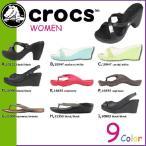 クロックス crocs サンダル 全9種類 海外正規品 クロスライト アウトドア スポーツ パンプス ミュール レディース