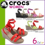 クロックス crocs レディース サンダル レイ ウエッジ LEIGH WEDGE W 11382 海外正規品