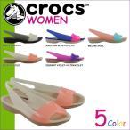 ����å��� crocs ��ǥ����� ������� �ѥ�ץ� COLORBLOCK FLAT W 200032 ����������