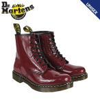 ドクターマーチン Dr.Martens 1460 8ホール ブーツ [ チェリーレッド ] R11822605 MODERN CLASSICS パテントレザー メンズ レディース