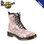 ドクターマーチン Dr.Martens 1460 WOMENS 8ホール ブーツ チェリーレッドオンホワイト R14282625 CORE レザー レディース メンズ