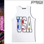 ジョイリッチ JOYRICH タンクトップ メンズ レディース ノースリーブ ホワイト USA PICNIC CRUISE TANK ユニセックス