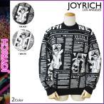 ジョイリッチ JOYRICH ニットセーター メンズ セーター 1520100304 2カラー FASHION NEWS MONO KNIT CREW