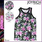ジョイリッチ JOYRICH レディース タンクトップ 花柄 1520101518 2カラー OPTICAL GARDEN TANK