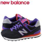 new balance ニューバランス 574 スニーカー ML574WBK Dワイズ メンズ レディース 靴 ブラック