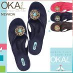ショッピングオカビー OKA b. オカビー コンフォート サンダル 3カラー NEVADA ネバダ Eワイズ レディース OKAb OKA b ビーチサンダル