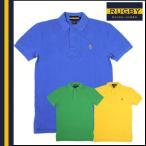 メンズ ラグビー RUGBY ラルフローレン ヴィンテージ半袖ポロシャツ スモールスカルロゴ 3カラー コットン