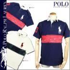 ポロ ラルフローレンPOLO by RALPH LAUREN ポロシャツ ネイビー ホワイト 0463992ビッグ ポニーコットンメンズ