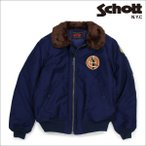 ショッピングschott ショット Schott ジャケット デッキジャケット ミリタリー メンズ DOWN FILLED N-1 DECK JACKET ネイビー 8725D 12/26 新入荷