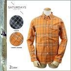 サタデーズ サーフ SATURDAYS SURF ボタンダウンシャツ メンズ チェック柄 2色 HACHET-05