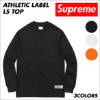 シュプリーム Supreme Tシャツ メンズ 長袖 カットソー Athletic Label LS Top ロンティー ロンT 予約商品 9/25頃入荷予定 新入荷
