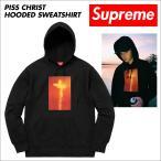 シュプリーム Supreme パーカー プルオーバー メンズ PISS CHRIST HOODED SWEATSHIRT ブラック