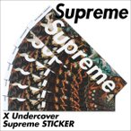 ����ץ�� ���ƥå��� Supreme ������ X UNDERCOVER ��� ��ǥ�����