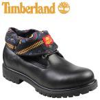 ティンバーランド Timberland アイコン ロールトップ ブーツ ICON ROLL-TOP レザー ファブリック 6823A ブラック メンズ [9/25 再入荷]