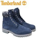 ティンバーランド 6インチ メンズ timberland ブーツ プレミアム 6INCHI 6-INCH PREMIUM WATERPLOOF BOOTS A1GEM Wワイズ ネイビー 防水