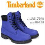 ティンバーランド 6インチ メンズ Timberland ブーツ プレミアム 6INCHI PREMIUM BOOTS A1M64 Wワイズ 防水 ブルー