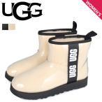 UGG アグ ブーツ レインブーツ クラシック クリア ミニ レディース CLASSIC CLEAR MINI ブラック ベージュ 黒 1113190
