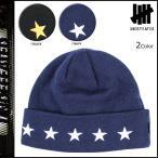 アンディフィーテッド UNDEFEATED ニットキャップ ビーニー メンズ ニット帽 帽子 ブラック 5 STAR CUFF BEANIE