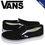 VANS ヴァンズ スリッポン スニーカー メンズ レディース バンズ CLASSIC SLIP-ON ブラック 黒 VN000EYEBLK