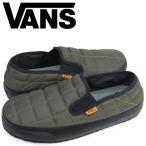 ショッピングvans スリッポン VANS スリッポン スリッパ メンズ バンズ ヴァンズ SLIP-ER VN0A344OOQR 靴 オリーブ サンダル ルームシューズ パット ムーア