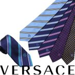 VERSACE ネクタイ シルク ヴェルサーチ ベルサーチ メンズ ギフト ケース付 イタリア製 ビジネス 結婚式
