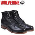 ウルヴァリン 1000マイル ブーツ WOLVERINE ブーツ メンズ 1000 MILE BOOT Dワイズ W05300 ブラック ワークブーツ 9/27 追加入荷