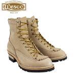 ウエスコ WESCO 8インチ ジョブマスター ブーツ 8INCH JOB MASTER Eワイズ ヌバック メンズ バーラップ BE108100 ウェスコ