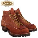 ウエスコ WESCO 6インチ ジョブマスター ブーツ 6INCH JOB MASTER Eワイズ スエード メンズ レッドウッド ウェスコ スウェード RW106100