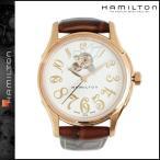 ハミルトン HAMILTON 腕時計 メンズ レディース ジャズマスター レディオート 33mm H32345983 ローズゴールド × ブラウン JAZZMASTER LADY AUTO あすつく対象外