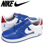 ショッピングエアフォース ナイキ NIKE エアフォース1 スニーカー AIR FORCE 1 SHEED LOW 306347-411 ロー メンズ 靴 ブルー zzi 返品不可
