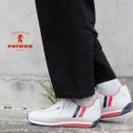 ショッピングマラソン 定番 パトリック PATRICK スニーカー マラソン レザー トリコロール MARATHON-L TRC 98800