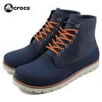[今ならポイント15倍!]クロックス crocs cobbler 2.0 boot m クロックス コブラー 2.0 ブーツ メン ネイビー/スタッコ 16106-46K