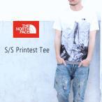ノースフェイス THE NORTH FACE Tシャツ ショートスリーブ プリンテスト ティー ハーフドーム NT31841-HD