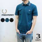 フレッドペリー ポロシャツ ツインティップド フレッドペリー シャツ M12 B/キングフィッシャー(K29) ディープティール(K33) B/アシッドライム(K35)
