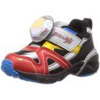 ムーンスター ウルトラマン UTM145 レインボー 子供靴 男の子 2E ウルトラマンルーブ 光るカラータイマー