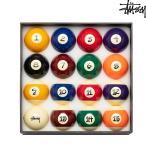 STUSSY BILLIARD BALLS SET 「JAPER BEES」 ステューシー ビリヤード ボールセット