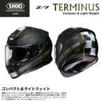 SHOEI ショウエイ 2輪車用 フルフェイス ヘルメット Z-7 TERMINUS ゼットセブン ターミナス 軽量 コンパクト エアロフォルム