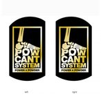 POW CANT SYSTEM パウカントシステム BLACK/GOLD