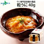 ウニ 瓶詰め 粒うに 北海道産 60g 1個 北海道 うに 取り寄せ グルメ 海鮮 ギフト 食べ物 産地直送 バレンタイン 節分
