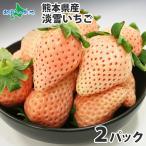 白いちご 淡雪 白イチゴ 400g お取り寄せ 産地直送 グルメ 白いイチゴ 白苺 熊本県産 ギフト プレゼント 食べ物