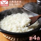 ポイント消化 米  北海道産 ななつぼし 2袋 600g  お取り寄せ メール便 セール